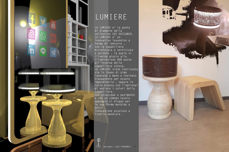 Lumière e Lady Love di EDI Designer: evoluzione del mondo del Design