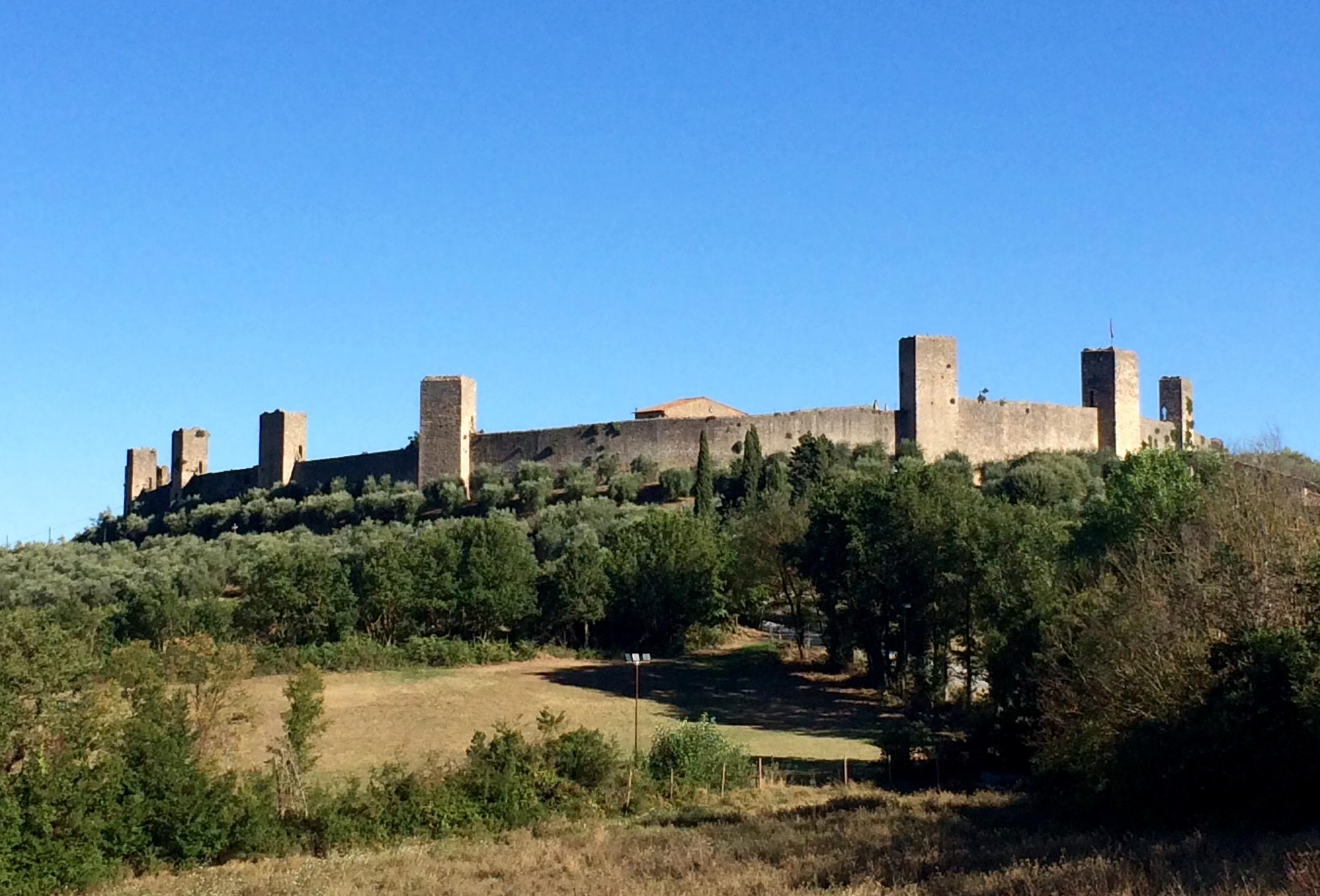 Itinerario 8: si parte da Monteriggioni