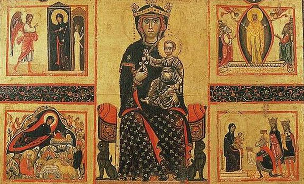 La leggenda della Madonna delle Vertighe