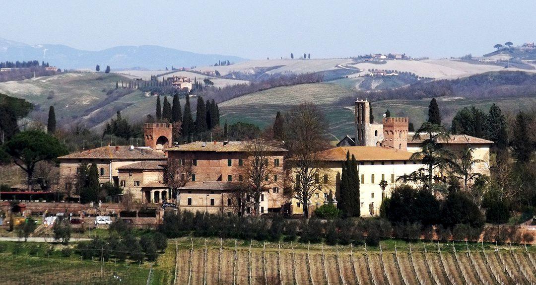 Lucignano d'Arbia, un castello sulla Francigena